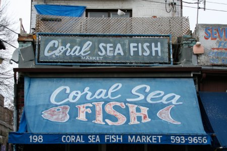 Coral Sea Fish Market