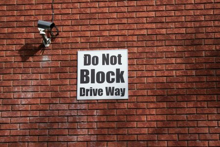 Do Not Block Drive Way