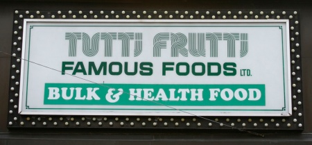 Tutti Frutti Famous Foods Inc.