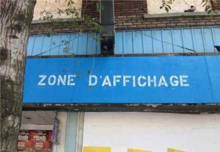 Zone D'Affichage