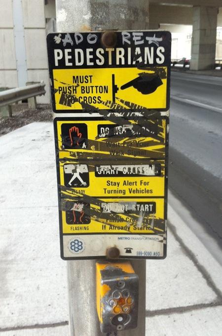 Adore Pedestrians