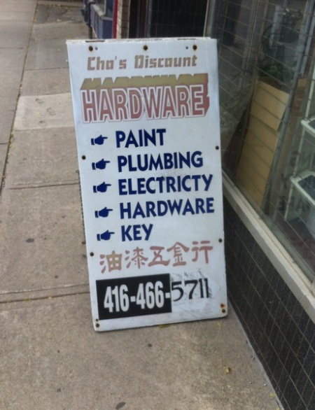 Cho's Discount Hardware